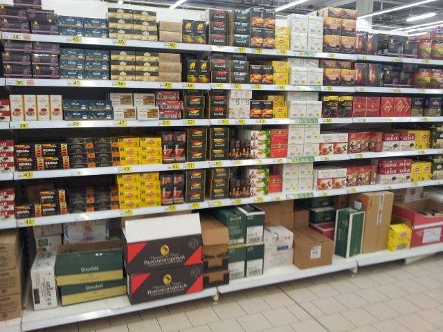 Купить чай Teatone можно во всех гипермаркетах Ашан