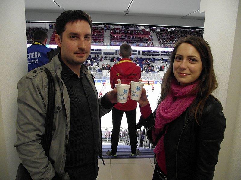 78-й Чемпионат мира по хоккею 2014 в Беларуси с чаем в стиках Teatone