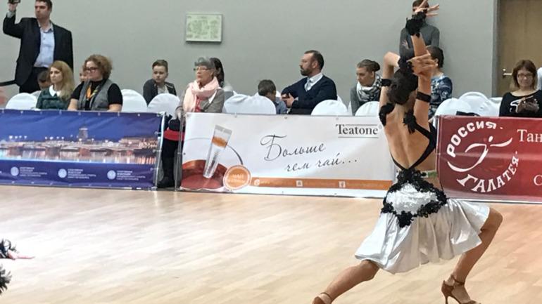 Международные соревнования по танцевальному спорту вместе с TEATONE