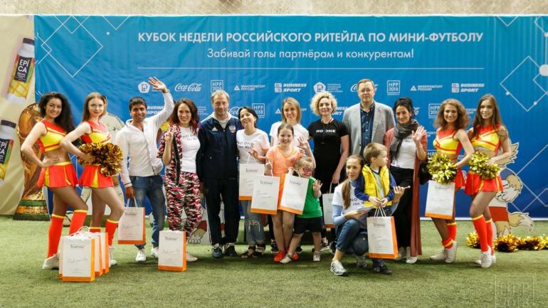 Победы вместе с Teatone на Кубке НРР2018 по мини-футболу