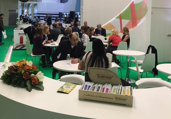 Teatone на WORLD FOOD в Москве