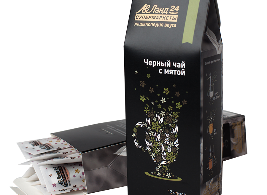 Компания Teatone производит частную марку для сети супермаркетов ЛЭНД.