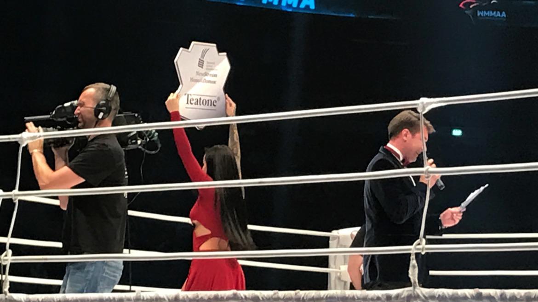 Teatone стал партнером 25-го турнира по смешанным единоборствам M-1 Challenge!