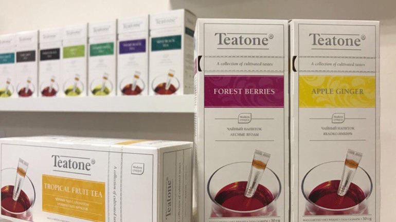 Три премьеры чайного сезона от Teatone