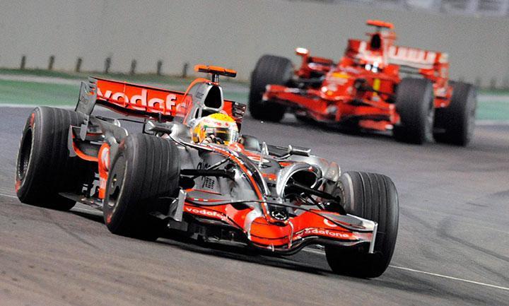 Teatone на скорости Формулы-1