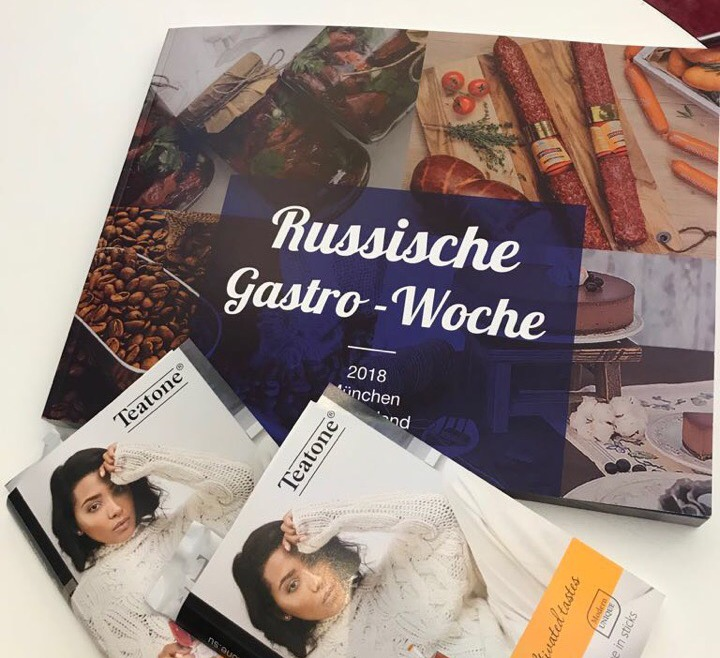 TM Teatone at Russian Gastro Week exhibition in Munich 2018