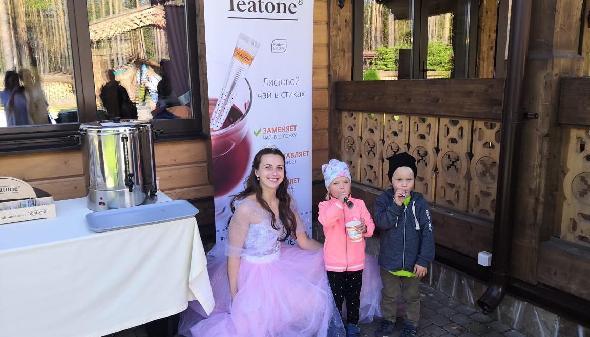 Family Day с чаем Teatone в Охта Парк!
